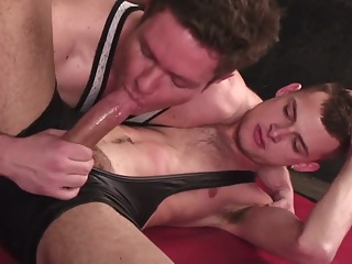 wrestling sex cumshot fetish gay